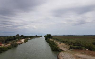 Canal du Rhone à Sète